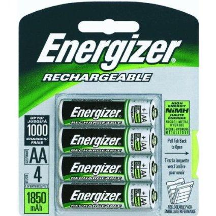 Energizer Power Plus NiMH AA Rechargeable Batteries
